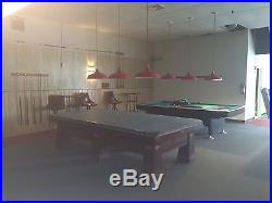 10' Brunswick Regina 1929 Billiards Table