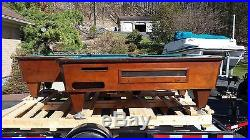 10 Pocket Billiard Table (Pool Table) Extremely Rare! Northfield Cabinet Shop