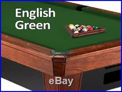 10' Simonis 860 English Green Billiard Pool Table Cloth Felt