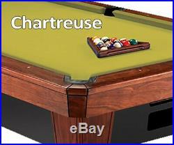 12' Simonis 860 Chartreuse Billiard Pool Table Cloth Felt