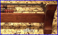 1884 Brunswick-Balke-Collender Co Pool Table Abacus Style Score Keeper! Rare