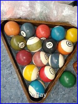 1892 brunswick pool table model # 54983