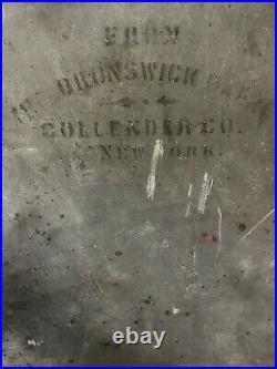 1898 Brunswick 9' Narragansett Antique Pool Table