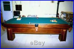 1900's Regina Brunswick 9' Pool table Antique $14,000+ Restored! NO RESERVE