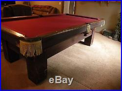 1912 Brunswick Pool Table