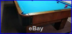 1924 Brunswick Madison Billiards Pool Table 4.5 X 9 feet ANTIQUE