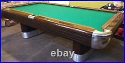 1940S Restored Brunswick Anniversary Pool Table 4x8
