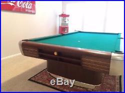 1945 Brunswick Anniversary Pool table - Restored