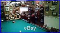 1946 Brunswick Balke Collender Centennial Pool Table 8' (46 x 92) NICE