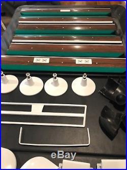 1963 9' Brunswick Gold Crown Billiards Pool Table
