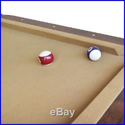 2017 87 Pool Table Billiard Billiards Set Light Cues Balls Chalk Triangle Brush
