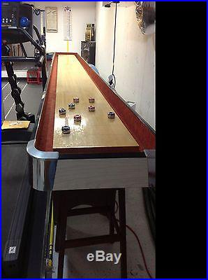 20 ft American shuffle board table