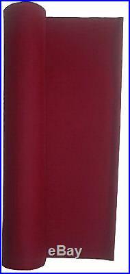 21 Ounce Pool Table Billiard Poker Cloth Felt Wine 84 X 60