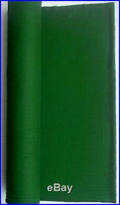 21 Oz Pool Billiard Cloth Felt Poker English Green for 9 ' Table 144 X 61
