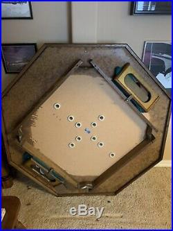 3 in 1 Combo Bumper Pool, Poker, Card Game Table 60 Diameter