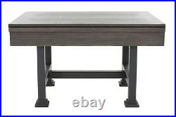3 in 1 SLATE BUMPER POOL, CARD/POKER & DINING TABLE in MIDNIGHT BLACK THE URBAN