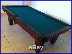 4004 Pool Table, 8' regulation 1 slate