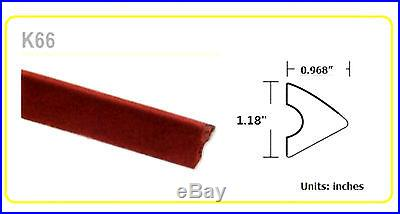 48 K66 Rubber Pool Table Bumber Cushions Set of 6