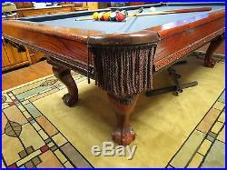 4 X 8 FEET SCHMIDT CO POOL TABLE