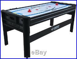 4 in 1 Air Hockey Ping Pong Football Pool Table Set Billiards Game Room Board