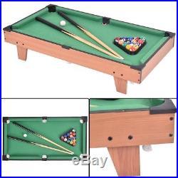 4 in 1 Multi Game Swivel Table Tennis Football Pool Billiard Ping Pong Indoor