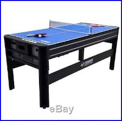 4in1 Air Hockey Ping Pong Table Tennis Pool Table Set Billiards Game Room Games
