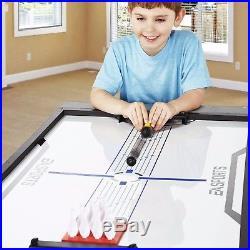 54 4-in-1 Flip Game Table Air Hockey Pong Tennis Pool Table Family Fun Gameroom