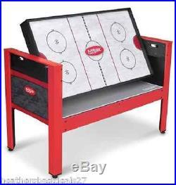 5-In-1 Multi-Game 48 Swivel Table Kids Family Fun Activity Hockey Archery Tenni
