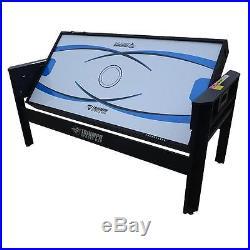 6Ft Multi Game Table Table Tennis Football Billiards Pool Air Hockey Table