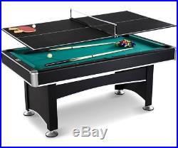 6 Foot Pool Table Ping Pong Tennis Top Accessory Kit Indoor Arcade Game Billard