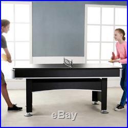 6 Foot Pool Table Tennis Ping Pong Top Accessory Kit Indoor Arcade Game Billiard