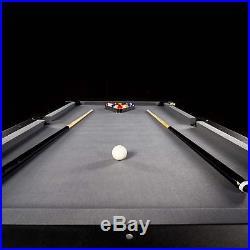 7.5' Titan Heavy Duty Pro Pool Table Snooker Modern Billiard With Accessory Kit