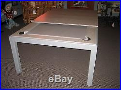 7' AARAMITH FUSION POOL TABLE / DINING TABLE THE GAME ROOM STORE, NJ- DEALER