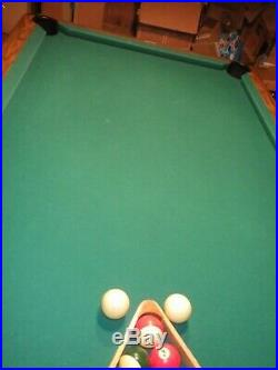 7' Brunswick Bristol II Slate top Billiard Pool Table (Local Pick-up N. Olmsted)
