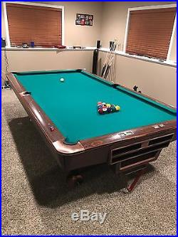 7-Brunswick Gold Crown 3, 9' Tables