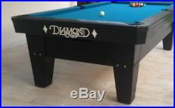 7' Diamond Smart Table Black With Light