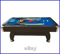 7' Feet Billiard Pool Table Snooker Full Set Accessories Game mod. Blue Sea