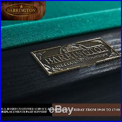 7 Foot Billiards Pool Table Set 84 with Cue Sticks, Balls Bonus Dartboard Game