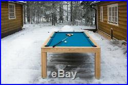 7' Outdoor Luxury Convertible Dining Pool Table Vision Billiards Free Shipping