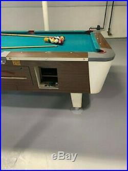 7' Valley Slate Top Vintage Pool Table