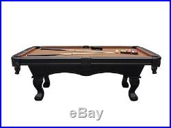 7 foot FURNITURE STYLE POOL TABLE (Non-Slate) THE AVENTURA by BERNER BILLIARDS