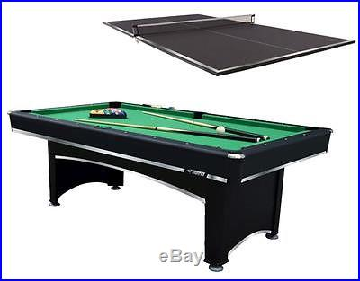 7 ft. Billiard Table with Table Tennis Top ID 2262770