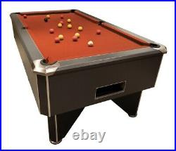 7ft FMF Tournament Pro Zebrano Pub Style Slate Bed Pool Table Fast Delivery