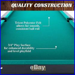 7ft Pool Table 7foot Pool Table 7ft Pool Table Black Man Cave Accessories