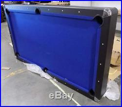7ft Pool Table Blue