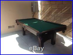 7ft Pool table in great condition! Pool sticks included