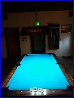 7ft diamond pool table