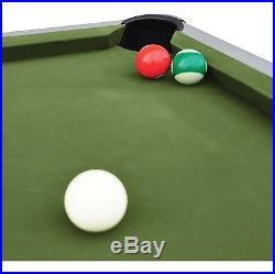 87 Outdoor Billiard Pool Table Weather Resistant Aluminum Outdoor Game Fun New