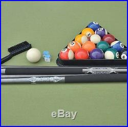 87 Outdoor Billiard Pool Table Weather Resistant Hand-Woven Resin Wicker New