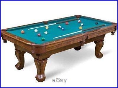 87 Pool Table Billiard Billiards Set Light Cues Balls Chalk Foosball Darts Rack